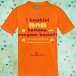 catalano bimbi baciano corta arancione