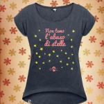 natale catalano stelle donna maglietta
